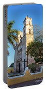 Cathedral In Valladolid Portable Battery Charger