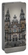 Cathedral Of Santiago De Compostela Portable Battery Charger by Jasna Buncic