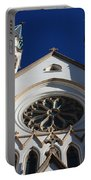 Cathedral Of St John The Babtist In Savannah Portable Battery Charger