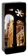 Cathedral Of Trier Window Portable Battery Charger