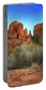 Cathedral Rock In Sedona Portable Battery Charger