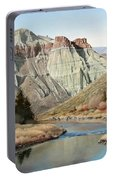 Cathedral Rock John Day River Portable Battery Charger