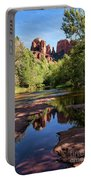 Cathedral Rock Of Sedona Portable Battery Charger