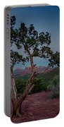 Cathedral Rock Overview Portable Battery Charger by Gary Lengyel