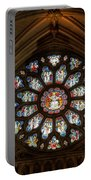 Cathedral Window Portable Battery Charger