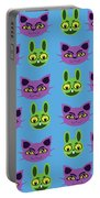 Cats And Rabbits Portable Battery Charger