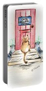 Cat's Welcome Motel Portable Battery Charger