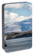 Catskill Mountains With Lighthouse Portable Battery Charger