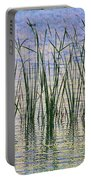 Cattails In The Lake Portable Battery Charger