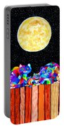 Catting In The Moonlight Portable Battery Charger