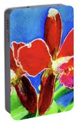 Cattleya Orchids Flowers #215 Portable Battery Charger