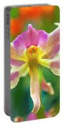 Caucaea Rhodosticta Orchid Portable Battery Charger