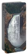 Lower Yellowstone Falls Portable Battery Charger
