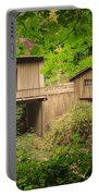 Cedar Creek Mill And Covered Bridge Portable Battery Charger
