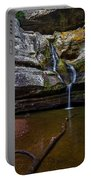 Cedar Falls In Hocking Hills State Park Portable Battery Charger