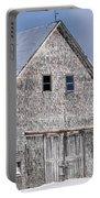 Cedar Shake Barn Portable Battery Charger