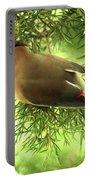 Cedar Waxwing Beauties 2 Portable Battery Charger