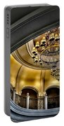 Ceiling And Chandelier In Bellagio Portable Battery Charger