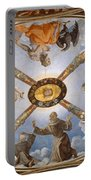 Ceiling Of The Chapel Of Eleonora Of Toledo Portable Battery Charger