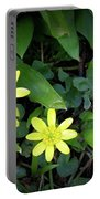Celandine Flowers Portable Battery Charger