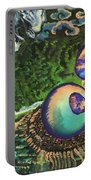 Cell Interior Microbiology Landscapes Series Portable Battery Charger