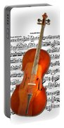 Cello With Clara Bow Portable Battery Charger
