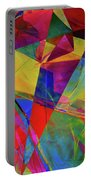 Cellophane Geometry Portable Battery Charger