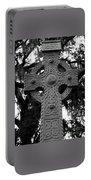 Celtic Cross In Emmet Park Portable Battery Charger