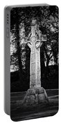 Celtic Cross In Killarney Ireland Portable Battery Charger