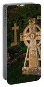 Celtic Cross St Divids Church 3 Portable Battery Charger