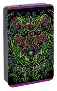 Celtic Day Of The Dead Skull Portable Battery Charger