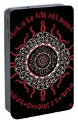 Celtic Lovecraftian Cosmic Monster Deity Portable Battery Charger