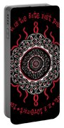 Celtic Lovecraftian Cosmic Monster Deity Portable Battery Charger