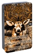 Celtic Stag Portable Battery Charger
