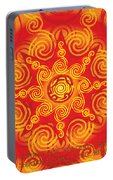 Celtic Tribal Sun Portable Battery Charger