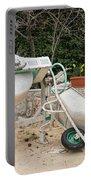 Cement Mixer And A Wheelbarrow In Croatia Portable Battery Charger