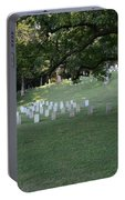 Cemetery At Shiloh National Military Park In Tennessee Portable Battery Charger