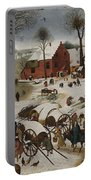 Census At Bethlehem Portable Battery Charger
