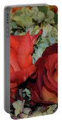 Centerpiece Roses Portable Battery Charger