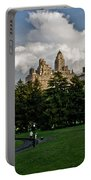 Central Park Skies Portable Battery Charger