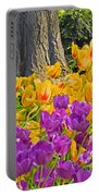 Central Park Tulip Display Portable Battery Charger