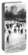 Central Park Winter Carnival Portable Battery Charger
