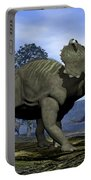 Centrosaurus Dinosaurs - 3d Render Portable Battery Charger