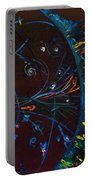 Cern Atomic Collision  Physics And Colliding Particles Portable Battery Charger