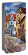 Cesky Krumlov Old Street 2 Portable Battery Charger
