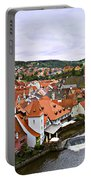 Cesky Krumlov Overview 2 Portable Battery Charger