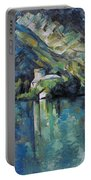 Cezanne: Annecy Lake, 1896 Portable Battery Charger