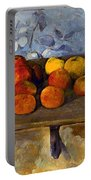 Cezanne: Apples & Biscuits Portable Battery Charger