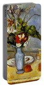 Cezanne: Blue Vase, 1885-87 Portable Battery Charger
