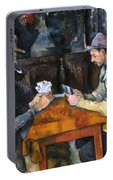 Cezanne: Card Player, C1892 Portable Battery Charger